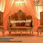 Asian Wedding Reception Stage Sofa Set