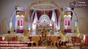 Exquisite Look Wedding Elephant mandap