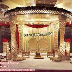Gorgeous Palazzo Crystal Wedding Mandap
