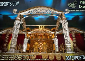 Grand Indian Wedding Mustache Mandap