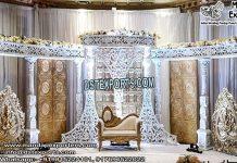 Grand Moroccan Theme Wedding Stage