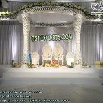 Indian Wedding Crystal Palazzo Pillar Mandap