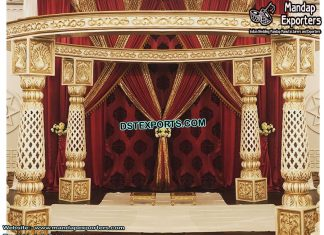 Indian Wedding Rajwada Fiber Mandap