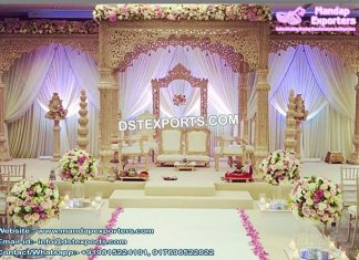 Maharani Palace Style Wedding Mandap