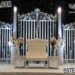 Modern Wedding Back-Stage Gate Frame