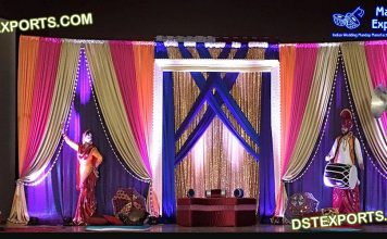 Punjabi Traditional Wedding Stage Props