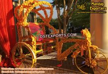 Punjabi Wedding Photography Rickshaw
