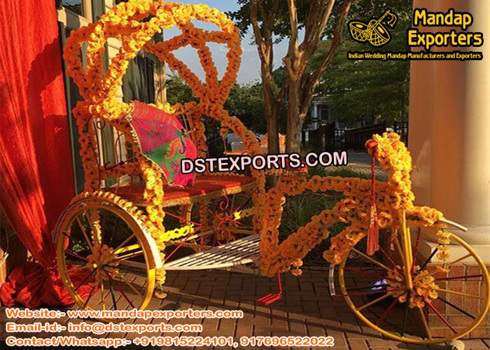 Punjabi Wedding Photography Rickshaw