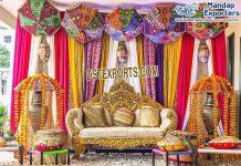 Punjabi Wedding Sangeet Stage Two-Seater