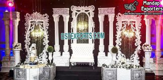 Royal Asian Wedding Ceremony Stage