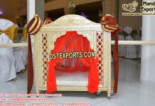 Royal Hindu Wedding Doli For Bride