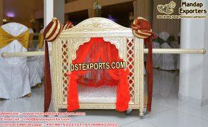 Royal Hindu Wedding Doli For Bride