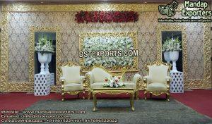 Royal Wedding Backstage Fiber Frame