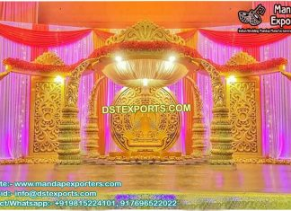 South Indian Elephant Marriage Mandap