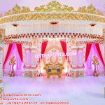 South Indian Wedding Crown Mandap
