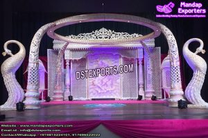 Stunning Indian Wedding Elephant Mandap