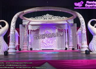 Stunning Indian Wedding Elephant Mandap