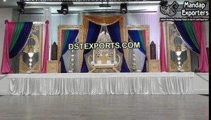 Stylish Mehandi Stage Photo Frames
