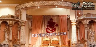 Tradition Hindu Wedding Castle Mandap