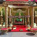 Traditional Wedding Golden Mandap