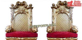 Wedding Rajawada Look King Style Chairs