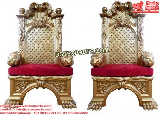Wedding Rajawada Look King Style Chairs