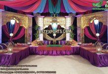 Arabian Theme Mehandi Stage Set