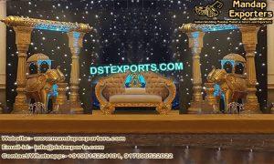 Arabian Wedding Night Theme Stage