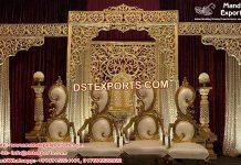 Arabian Wedding Reception Night Stage