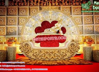 Best Hindu Wedding Event Stage Decoration