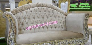 French Wedding Chaise Lounge Sofa