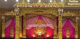 Glamorous Wedding Bollywood Style Mandap