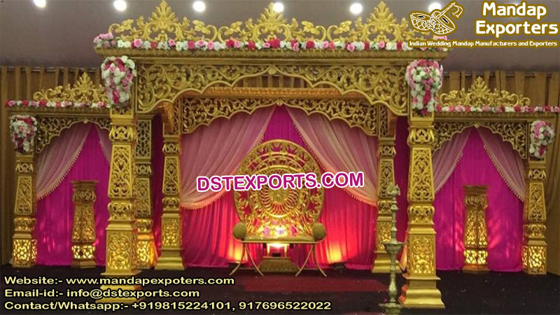 Glamorous Wedding Bollywood Style Mandap