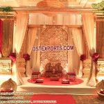 Glorious Golden Wedding Back-stage Frames