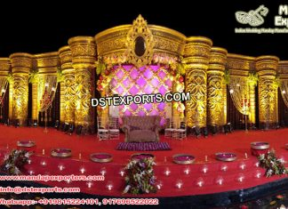 Grand Asian Wedding Maharaja Stage