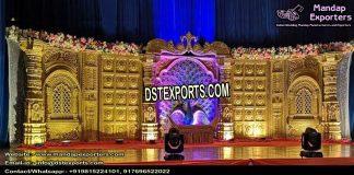 Grand Sri-Lankan Wedding Golden Stage