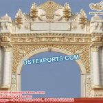 Grand Wedding Entrance Fiber Gate
