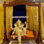 Hindu Wedding Entrance Ganesha Theme