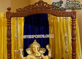 Hindu Wedding Entrance Ganesha Theme