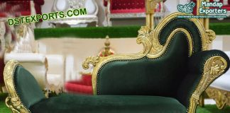 Latest Muslim Wedding Stage Sofa