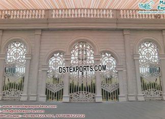 Modern Victorian Wedding BackStage Frame