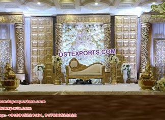 Muslim Wedding Mughal Theme Stage Decor