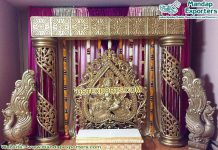South Indian Wedding Stage Decoration Set