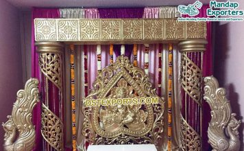 South Indian Wedding Stage Decoration Set