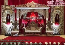 Stunning Muslim Walima Stage Decorations