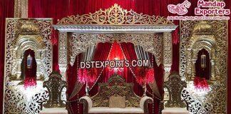 Stunning Muslim Walima Stage Decorations