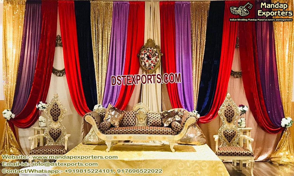 Traditional Indian Wedding Sofa Set