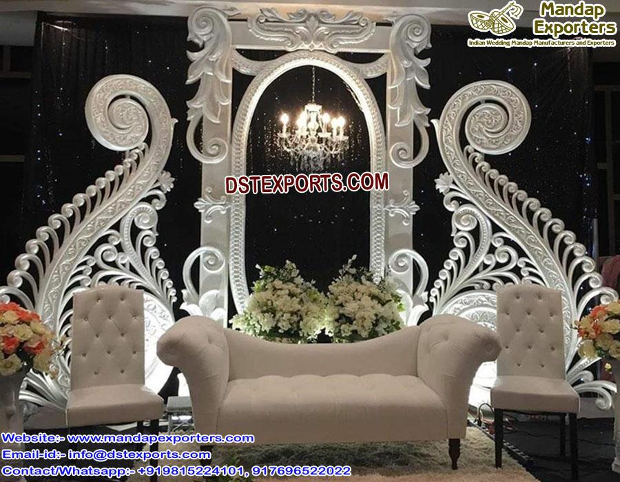 Trending English Wedding Reception Stage