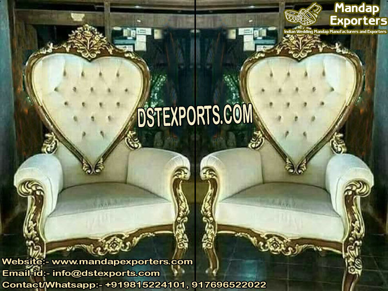 Wedding Do Dil Bride Groom Chairs