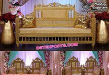 Best Arabian Wedding Maharaja Sofa Set